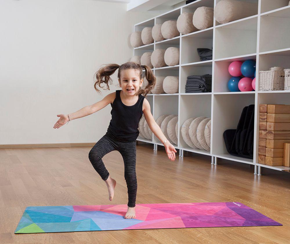 Tapis de sport et yoga pour enfant